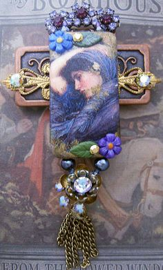 One of my Brooches. I believe Lilla LeVine owns this piece now.