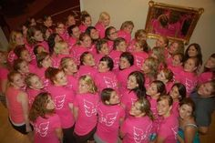Sigma Kappa! Pink shirts with angel wings in white on the back of the shirt. Love the pink & white colors together.