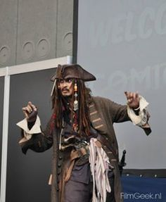 Jack Sparrow - Amsterdam Comic Con Dit weekend was Amsterdam Comic Con in de Rai te Amsterdam. De Amerikaanse Comic Con is begonnen als conferentie voor stripboeken