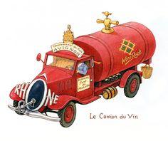 """""""Le Camion du Vin"""""""