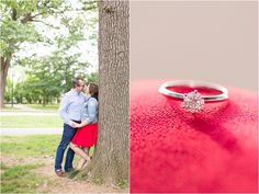 Meridian Hill Park, Washington D.C. Engagement Photography Virginia Engagement | Anna Grace Photography
