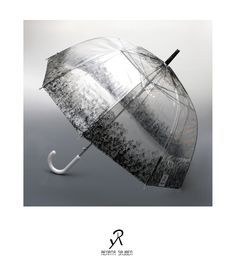 2015 Spring/Summer collection  plastic umbrella with hand-painted pattern