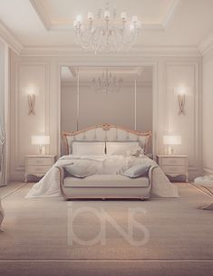 Luxury interior Design Company in Dubai UAE .IONS DESIGN one of the leading interior design Firms with world class designers. Luxe Bedroom, Bedroom Makeover, Elegant Bedroom, Home Bedroom, Luxurious Bedrooms, Stylish Bedroom Design, Modern Luxury Bedroom, Luxury Bedroom Master, Classic Bedroom