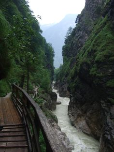 walking the #Lammerklamm-Austria