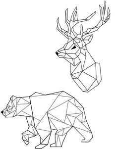 Set Tatuaje Temporare INKD Origami