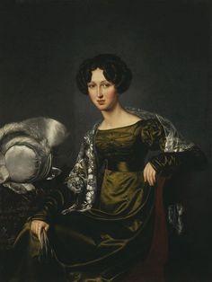 Portrait of an Unknown Woman, 1824. Yakovlev, Ivan Yeremeyevich
