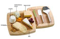 Uma tábua de queijos pode ser uma refeição completa, um aperitivo ou mesmo finalizando um jantar, antes da sobremesa, como os franceses usam.