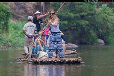 Tajlandia – Chiang Mai – spływ na bambusowych tratwach