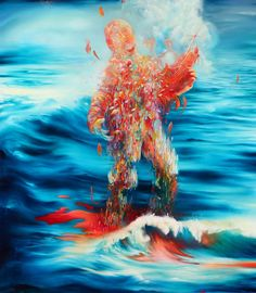 Tu recepcja - Michael Page (b.1979) lives and works as a full...