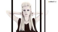 Videos, Hairstyles, Artwork, Sleek Hair, Learning, Hairdos, Haircut Designs, Work Of Art, Hair Styles