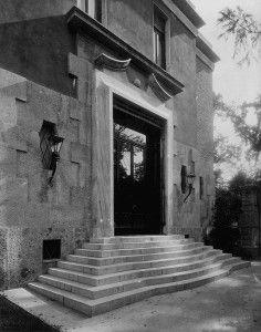 Villa Alberto Zanoletti Milano, via Mozart 9 1927-1930