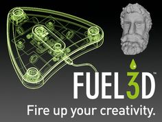 The Fuel3D  - affordable, high-resolution 3D scanner with color capture capabilities. http://kck.st/13ygzkR