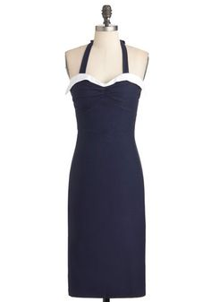What's Up Dock Dress 1930s style