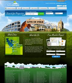 my latest real estate website
