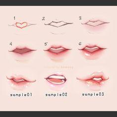 입술 그리는 방법 : 네이버 블로그