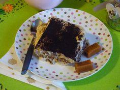 Kajmakowe tiramisu/ tiramisu toffie #sweet #mniam #pyszne #ciasto Tiramisu, Pie, Cakes, Baking, Food, Torte, Cake, Cake Makers, Fruit Cakes