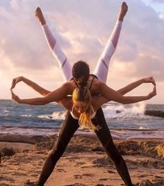Cool Yoga Pic at the beach