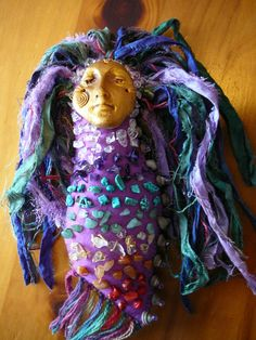 Chakra Doll Spirit Doll Medicine Doll Healing Art by BRIDGITSBELL