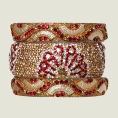 Chamak by Priya Kakkar make the best bangel sets, great colors and patterns!!
