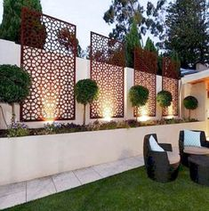 35 Georgeus Small Garden Design Ideas Low Maintenance Because you have a small garden, it doesn't want to work a lot. A small garden can be very exotic with just a little planning. Improving a beautiful modern garden [ … ] Small Backyard Landscaping, Backyard Garden Design, Backyard Fences, Garden Fencing, Landscaping Ideas, Backyard Ideas, Patio Ideas, Fence Ideas, Patio Fence