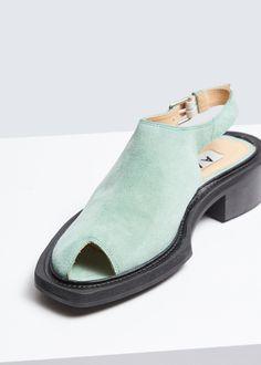 c9c30ab4de5 AALTO Cutout Toe Slingback Quirky Shoes