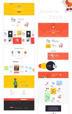 """Sticker Buzz is a experimental project based on """"Landing Free UIKit"""" for any kind of E-Commerce website . We planned to make it little bit different then the other sticker market on web. We saw most of the E-Commerce websites are backdated so that we tr…"""