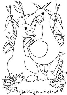 Image detail for -Amazing Coloring Pages: Geese coloring pages Animal Coloring Pages, Coloring Pages To Print, Coloring Book Pages, Coloring Pages For Kids, Coloring Sheets, Farm Quilt, Animal Templates, Painting Templates, Crazy Quilting