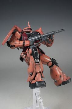 MG 1/100 MS-06S Char's Zaku II 2.0 Modeled by schorst CLICK HERE TO VIEW FULL POST...