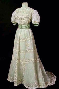 Edwardian Tea Gowns | Edwardian tea dress