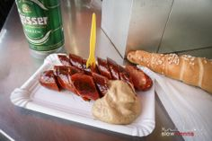 a local form of in Slow Food, Slow Travel, Homeland, Comfort Foods, Vienna, Happy Hour, Hot Dogs, Austria, Food And Drink