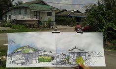 https://flic.kr/p/ApuyBV | Jalan Limau Purut, Kg. Pasir, Tampoi.