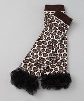 Mini mavens can get a leg up on fashion with this toasty yet trendy pair of leg warmers. Made from quality cotton that's soft against skin, these leg lovers serve their purpose with endearing flair.Approx. 10'' longCottonHand washImported