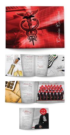 criação do convite de formatura da turma de Contábeis FACSUM || Center Design || 2010 • Curitiba/PR