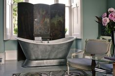 Boudoir Bath - Bathroom Ideas - Tiles, Furniture & Accessories (houseandgarden.co.uk)