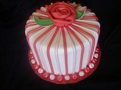 Beautiful Valentine's  Cake by Sweet Pea 0613