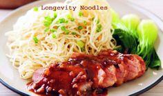 Longevity Noodles Chinese Style