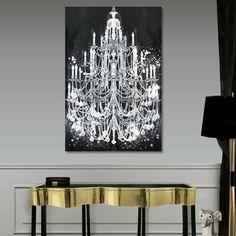 Oliver Gal & Co. Privee Diamonds Canvas Print I