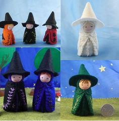 MADE TO ORDER Witch Doll Waldorf Inspired by AlkeldaDolls on Etsy