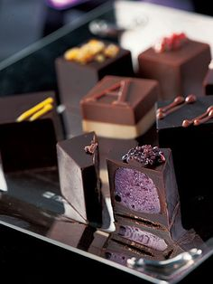 Armani/Dolci chocolates. Im pretty sure you can find a way to make these raw vegan, love siphora