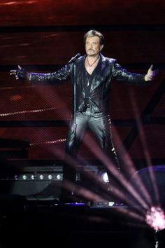 EN IMAGES. Concert-anniversaire géant pour Johnny
