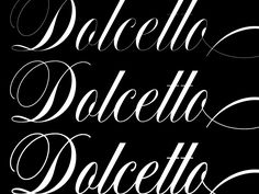 Dolcetto is here. by Drew Melton for Carmel Type Co.