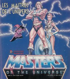 Masters of the universe, 1984; Panini, Modena; album per la raccolta di 216 figurine