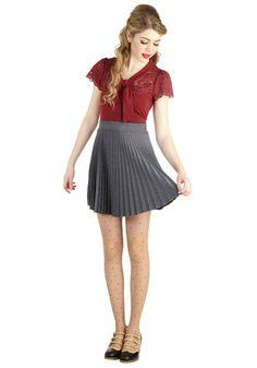 Accordion to You Skirt | Mod Retro Vintage Skirts | ModCloth.com $32.99