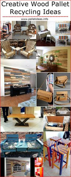 Usually, the individuals need to spend hundreds of dollars to turn their creative imagination into reality; but anyone can create the innovative things by spending less money and sometimes not paying a single penny if he/she decides to create the product with the wood pallets. There are many wood pallet ideas and some of them are presented below, all of the innovative products are created using the wooden pallets which cost less.