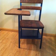 Refinished desk/chair...