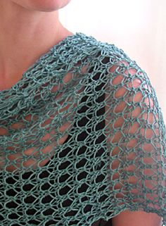 Waves of Lace Shawl and other loom knitting ideas.