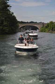 Boating on Lake Winnipesaukee