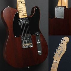 Fender Guitar Limited Edition American Vintage Hot Rod 50's Reclaimed Redwood ‪#‎Telecaster‬!
