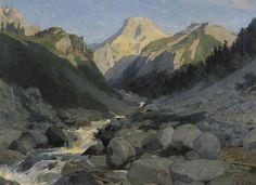 Le Pic de Ger, 1859 Galos, Victor (Pau, 1828 - id., 1879) huile sur toile, 55 x 72 cm legs Bertrand en 1889 inv. : 889.6.4