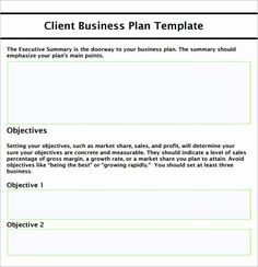 Basic Business Plan Template Inspirational Sample Small Business Plan 18 Documents In Pdf Word